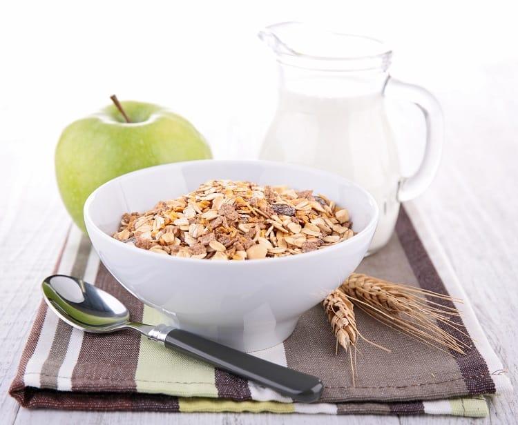 Breakfast Cereal and Milk