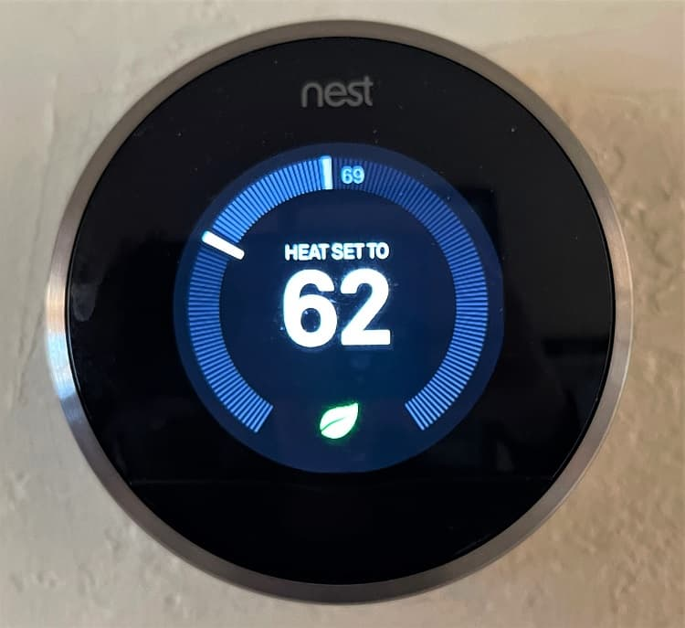 Nest Thermostat - Prepare Your Home For An Extended Vacation