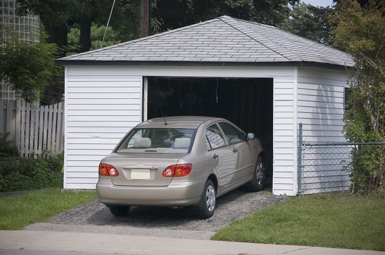 Prepare Your Home for an Extended Vacation - Put Your Car In Your Garage
